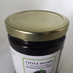 Blueberries & Violet Jam - Exotic Jams And Jellies