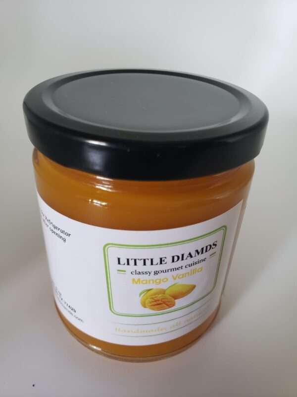 Mango Vanilla - Low Sugar Jams And Jellies