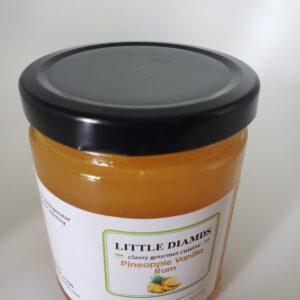 Pineapple Vanilla Rum - Jam With Lemon Juice