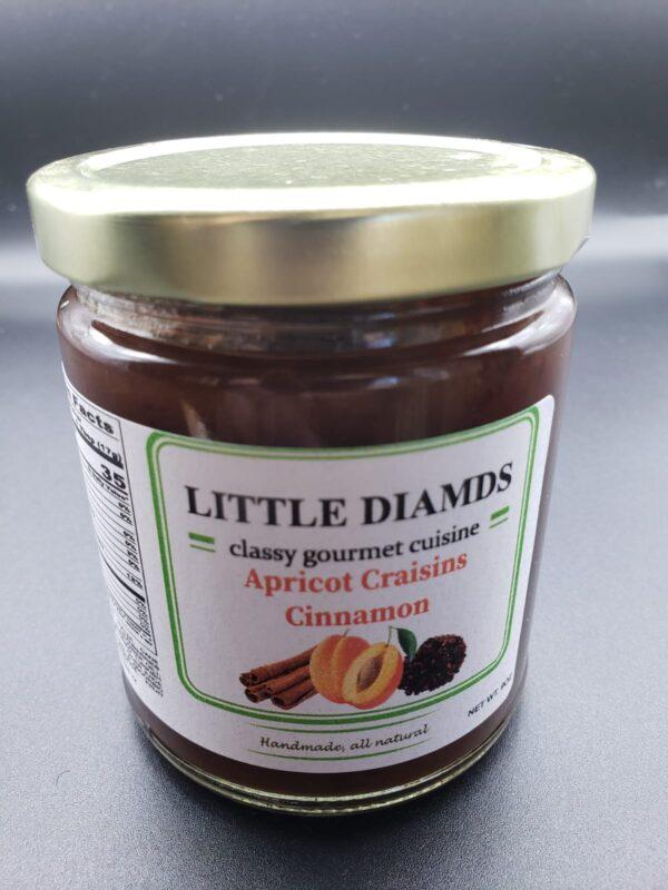 Apricot Craisins Cinnamon - Low Sugar Jams And Jellies